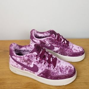 New Nike Air Force 1 LV8 Low Velvet Shoes